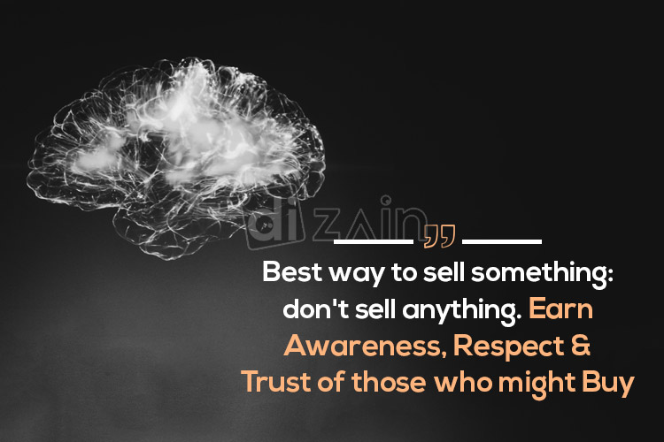 Motivational sales quotes - Best way to sell something | Dizain