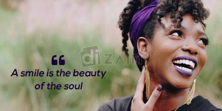 Beautiful Smile Quotes A Smile Is The Beauty Dizain